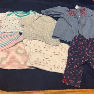 6-9 M babygirl clothes